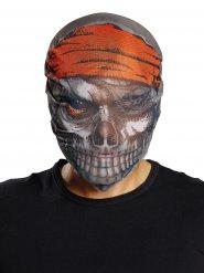 Zombie piraten masker