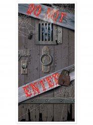 Do Not Enter Halloween deurdecoratie