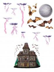 12 spookhuis muurdecoraties