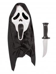Scream™ masker en mes voor volwassenen