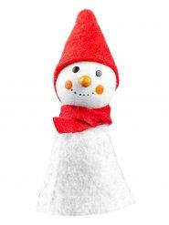 Vingerhoedje sneeuwpop