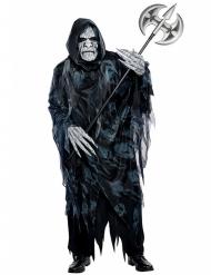 Enge zwarte reaper kostuum voor volwassenen
