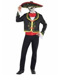 Mexicaans calaveras Dia de los Muertos kostuum voor mannen