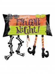 Aluminium Happy Fright Night ballon