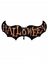 Aluminium vleermuis Halloween ballon