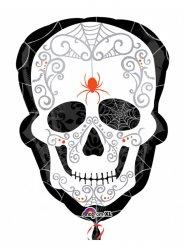 Dia de los Muertos doodskop ballon