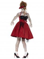Zombie jaren 50 kostuum voor vrouwen