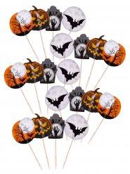 Set van 20 Halloween prikkers