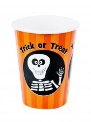 8 kartonnen trick or treat bekers