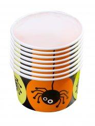 8 spinnen snoepbakjes