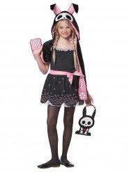 Konijn skelet kostuum voor meisjes