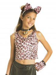 Dubbelzijdig luipaard tshirt voor kinderen