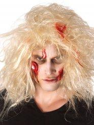 Zombie schminkset met bloederig oog voor Halloween