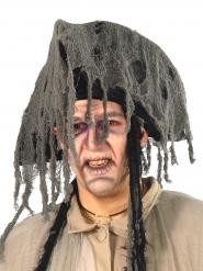 Grijze spookpiraat hoed voor volwassenen