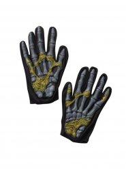 Slijmerige skelet handschoenen voor volwassenen