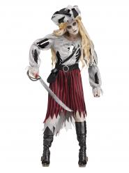 Spook piraten kostuum voor vrouwen