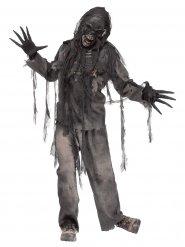 Verbrande zombie kostuum voor mannen