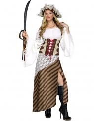 Piraten kostuum jurk voor vrouwen