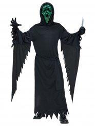 Scream™ kostuum met zwart en groen licht voor volwassenen