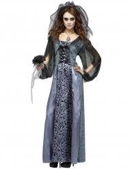 Zombie trouwjurk kostuum voor vrouwen