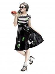Jaren 50 zombie outfit voor vrouwen