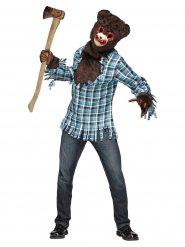 Horror teddybeer kostuum voor volwassenen