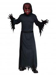 Duivel kostuum met zwart en rood licht voor volwassenen