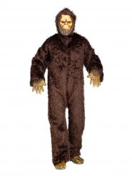 Bruin Yeti kostuum voor mannen