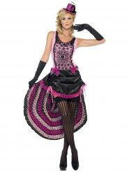 Burlesk danseres kostuum voor vrouwen