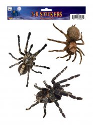 3 enge spinnen stickers