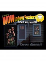 Zombie raam sticker