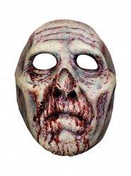 Bloederig zombie masker voor volwassenen