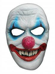 Latex boosaardige clown masker voor volwassenen