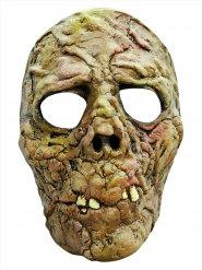 Groen zombie masker voor volwassenen