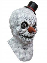 Latex zombie sneeuwpop masker voor volwassenen