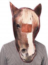 Fotorealistisch paard masker voor volwassenen