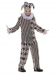 Horror harlekijn kostuum voor mannen