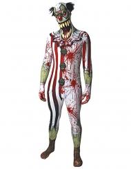 Bleoderig clown Morphsuits™ kostuum voor volwassenen