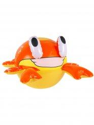 Opblaasbare oranje en gele krab