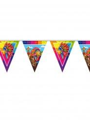Veelkleurige Indiaanse vlaggenslinger