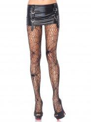 Zwarte spinnen heksen legging voor vrouwen