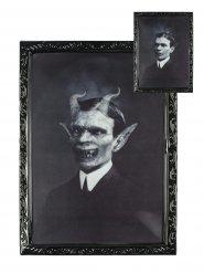 Veranderend duivelse gentleman schilderij