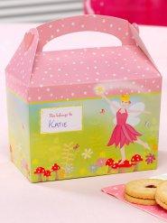 8 roze kartonnen fee cadeau dozen