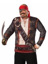 Piraten tshirt voor mannen