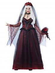 Donkere bruid kostuum voor vrouwen