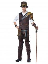 Steampunk avonturier kostuum voor mannen