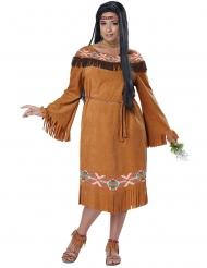 Indianen kostuum voor vrouwen - Plus Size