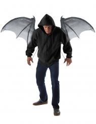 Duivelse vleermuis vleugels voor volwassenen