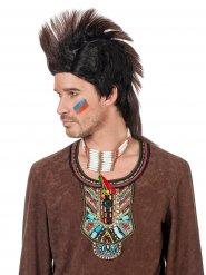 Indianen kuif pruik voor mannen
