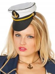 Mini matrozen kapitein hoed voor vrouwen